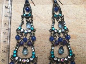 Wunderschöne lange Vintage Ohrringe