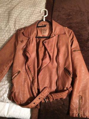 Wunderschöne Leder Jacke Größe M