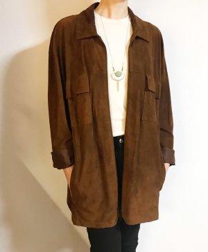 Wunderschöne Lederblouson/ Lederhemd/ leichte Lederjacke von Alba Moda