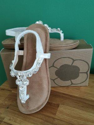 5th Avenue Dianette sandalen wit Leer