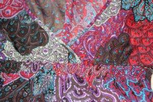 Wunderschöne, leichte Tunikabluse mit Paisleymuster