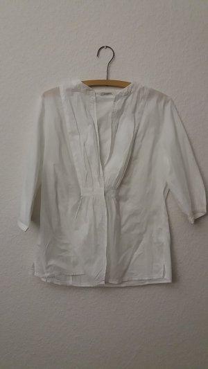 wunderschöne, leichte, weiße Bluse aus Baumwolle