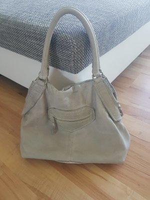 Liebeskind Shoulder Bag light grey-oatmeal leather