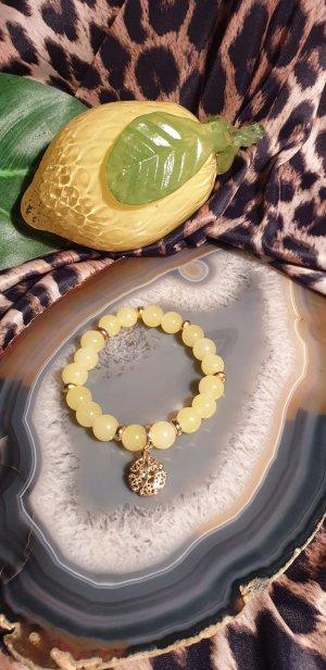Wunderschöne Limonenfarbige Perlen