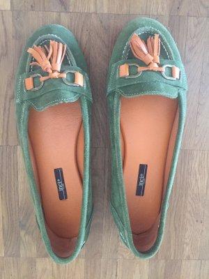 Wunderschöne Loafer mit Quasten