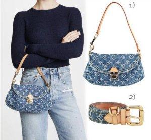 Wunderschöne Louis Vuitton Denim Tasche