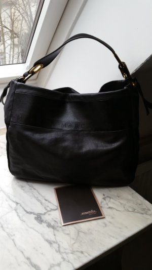 Marc by Marc Jacobs Carry Bag black leather