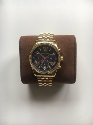 Michael Kors Watch With Metal Strap multicolored metal