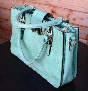 Carry Bag turquoise-mint mixture fibre