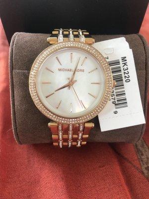 Wunderschöne MK Uhr, rosegold, wie neu!
