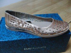 Wunderschöne neue Ballerinas rosé-golden von Emu Australia