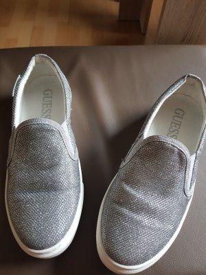 Guess Bailarinas color plata