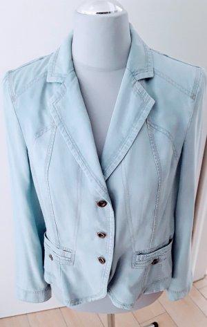 Apanage Veste bleu azur fibre textile