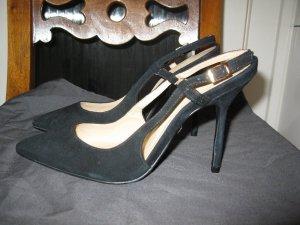 Wunderschöne, neue, sexy, elegante Schuhe aus Wildleder, EU37