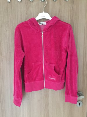 Wunderschöne Nickijacke in der Farbe pink, voll lässig