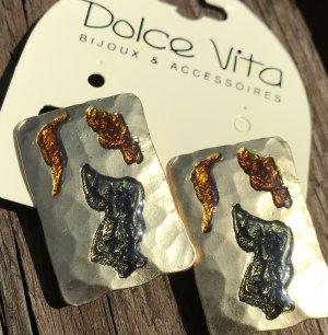 Dolce Vita Pendientes de clip multicolor