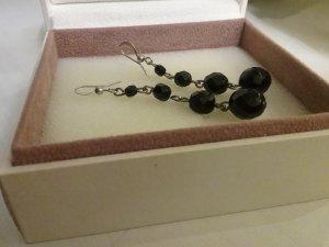 Wunderschöne  Ohrringe aus 925er Silber und schwarze Onyx