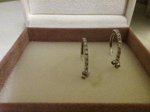 ➰Wunderschöne  Ohrringe aus 925er Silber und Weiße Zirkonia...Wie NEU!!!➰