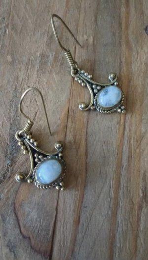 Wunderschöne Ohrringe mit Mondstein vintage