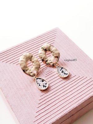 Wunderschöne Ohrringe mit Snake Print Gold Nickelfrei <3
