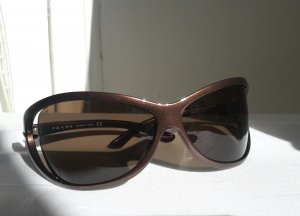 Prada Glasses bronze-colored