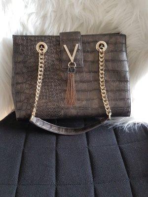 Valentino Sac porté épaule gris foncé faux cuir