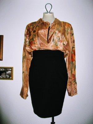 Wunderschöne Oversize Vintage Bluse florales Muster