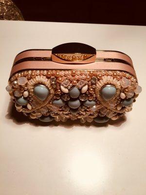 Wunderschöne Perlen besetzte Clutch von Aldo