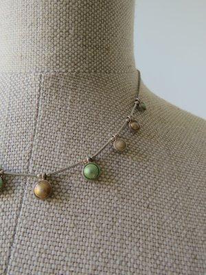 Wunderschöne Pilgrim Kette aus echtem silber mit Perlen