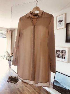 Wunderschöne Puder -farbene Bluse
