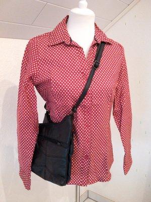 wunderschöne Retro-Bluse,rot,weiß,Gr.S/36