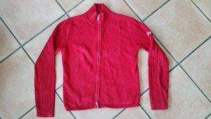Wunderschöne rote Feinstrickjacke v. ESPRIT Gr. M