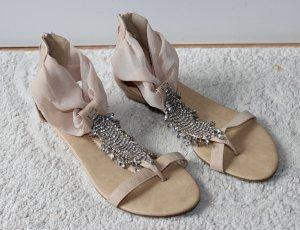Wunderschöne Sandalen mit Glitzer