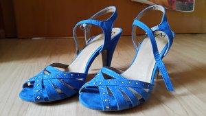 Anna Field Hoge hakken blauw-neon blauw