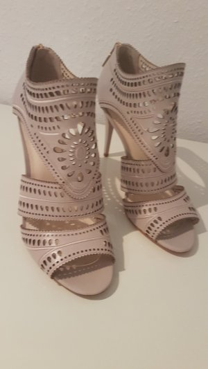 Aerie High-Heeled Sandals light grey