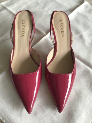 Wunderschöne Schuhe von ESCADA, NEU, Gr.39 in Fuksiaton, Leder, Lack