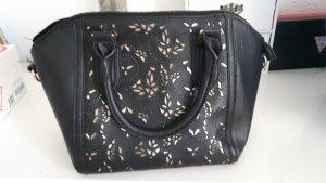 Wunderschöne schwarz goldene Tasche