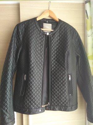 Wunderschöne schwarze Lederjacke von Bata