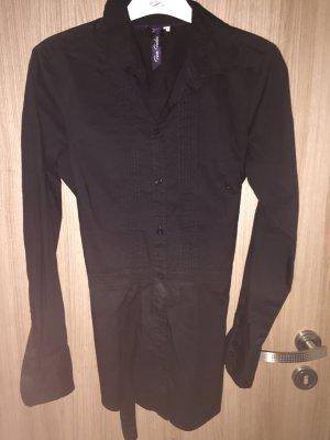 Wunderschöne schwarze Longbluse der Marke Tom Tailor Casual, Größe 36