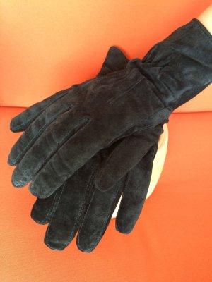 wunderschöne schwarze, sehr elegante Lederhandschuhe