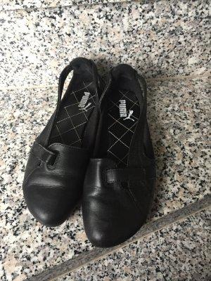 Wunderschöne schwarze Sneaker der Marke Puma, Größe 37,5