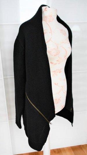 Amisu Rebeca negro tejido mezclado