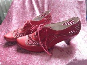 Wunderschöne, sehr feminine Schuhe von Roby & Pier, selten getragen, rot, NP 119.90!
