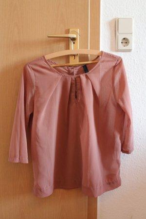 Wunderschöne Shirt-Bluse von Vero Moda in Altrosa