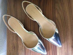 Wunderschöne Silberne Schuhe