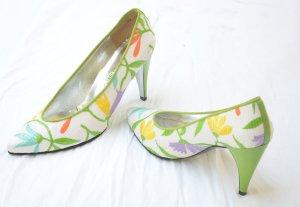 Charles Jourdan High Heels multicolored leather