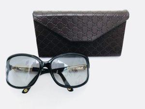 Gucci Round Sunglasses black-light orange