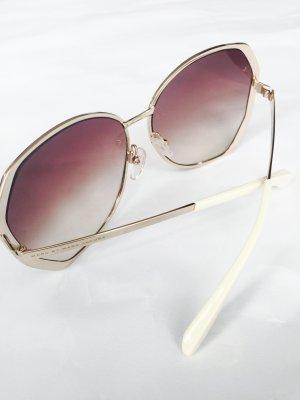 Wunderschöne Sonnenbrille von Marc by Marc Jacobs in Pastelgelb und Gold