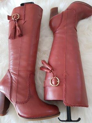 Wunderschöne Stiefel  aus Leder von PIER ONE...Wie  NEU!!