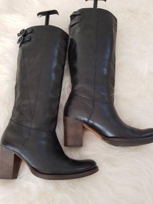 Blue Strenesse Laarzen met hak zwart Leer